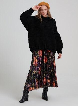 Multi - Unlined - Skirt