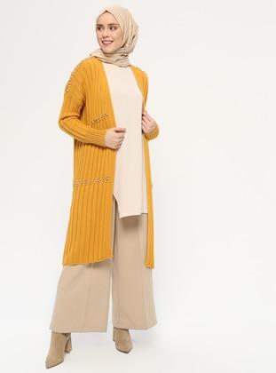 Mustard - Acrylic -  - Cardigan