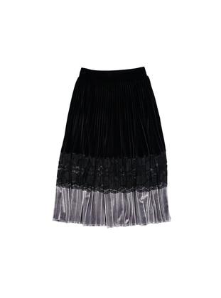 Unlined - Black - Girls` Skirt