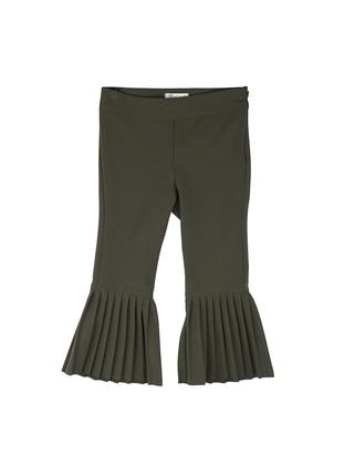 Unlined - Khaki - Girls` Pants