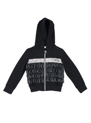 - Unlined - Black - Girls` Sweatshirt
