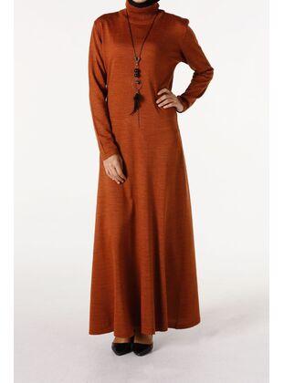 Orange - Plus Size Dresses