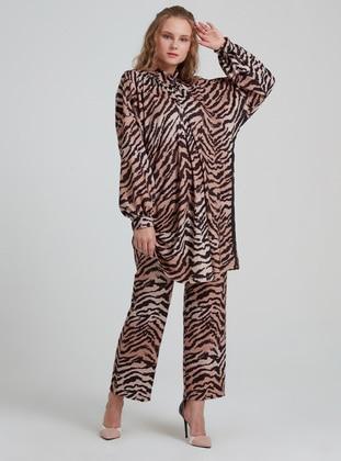 Multi - Zebra - Viscose - Suit