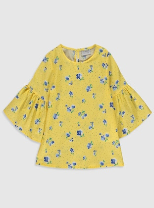 Yellow - Girls` Blouse - LC WAIKIKI