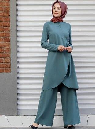 Sea-green - Unlined - Suit