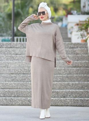 Mink - Unlined - Acrylic -  -  - Suit - Por La Cara