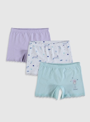 Blue - Girls` Underwear - LC WAIKIKI