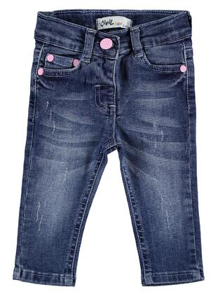 Blue - Baby Pants - Civil Baby