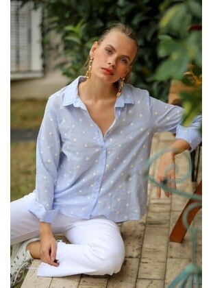 Baby Blue - Blouses
