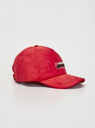 Red - Girls` Hat - LC WAIKIKI