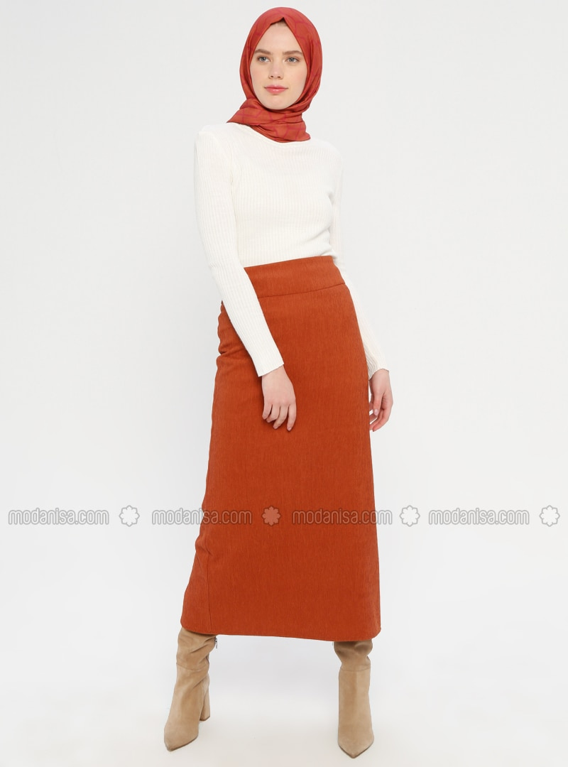 Cinnamon - Half Lined - Viscose - Skirt