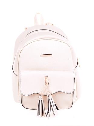 Cream - Backpack - Backpacks