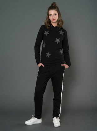 Black -  - Tracksuit Bottom
