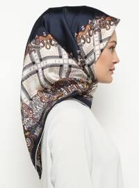 Multi - Printed - Plain - %100 Silk - Twill - Scarf