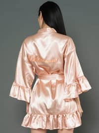 Gold - Rose - Morning Robe