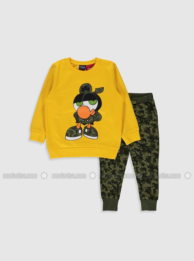 Yellow - Boys` Suit