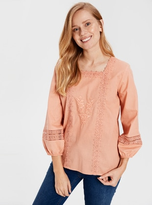 Orange - Blouses
