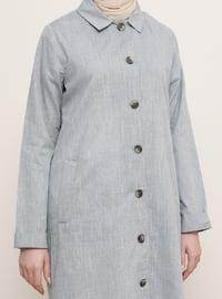 Indigo - Point Collar - Topcoat