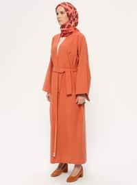 Cinnamon - Unlined - Shawl Collar -  - Vest
