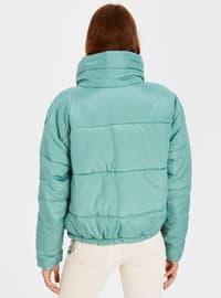 Green - Puffer Jackets
