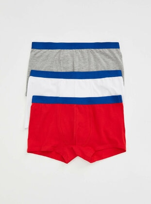 Red - Kids Underwear