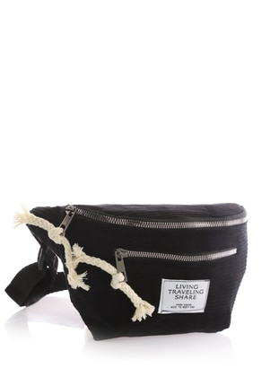 Black - Crossbody - Bum Bag - Stilgo