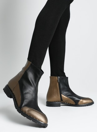 Copper - Black - Boot - Boots