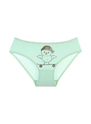 - Green - Girls` Underwear - Doni