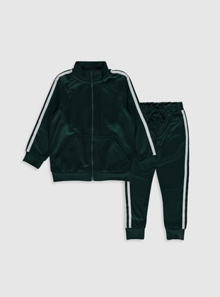 Green - Boys` Suit