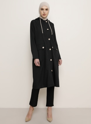Black - Trench Coat