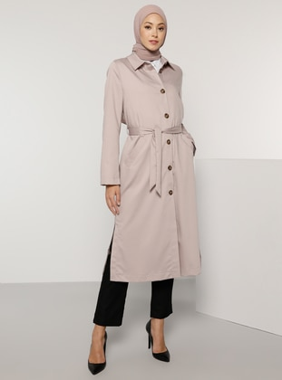 Powder - Unlined - Point Collar - Trench Coat