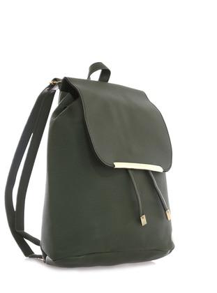 Khaki - Backpack - Backpacks