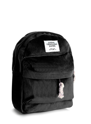 Black - Backpack - Backpacks