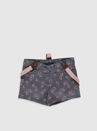 Anthracite - Baby Shorts - LC WAIKIKI