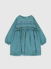 Turquoise - Baby Dress