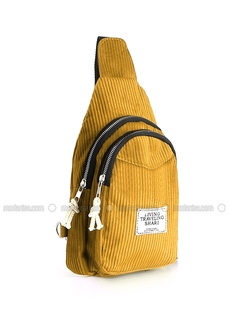 Mustard - Satchel - Shoulder Bags
