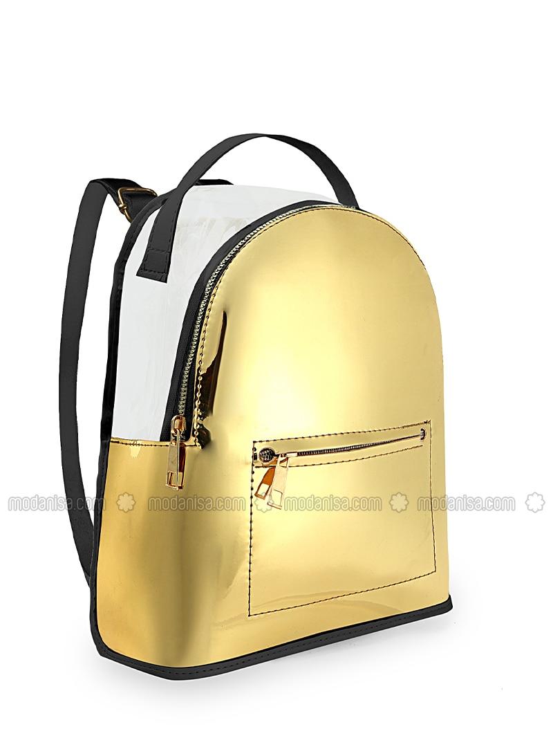 Gold - Backpack - Backpacks