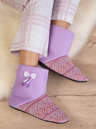 Sandal - Lilac - Home Shoes
