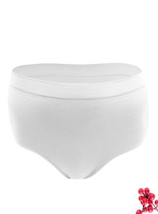 White - - Cotton - Panties