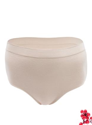 Nude - - Cotton - Panties