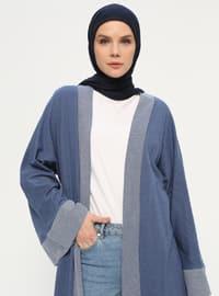 Khaki - Unlined - Shawl Collar -  - Abaya