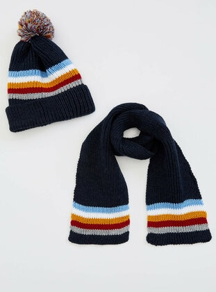 Navy Blue - Scarf