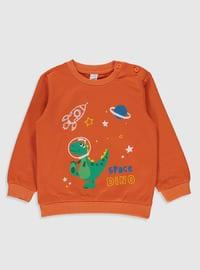 Orange - Baby Suit
