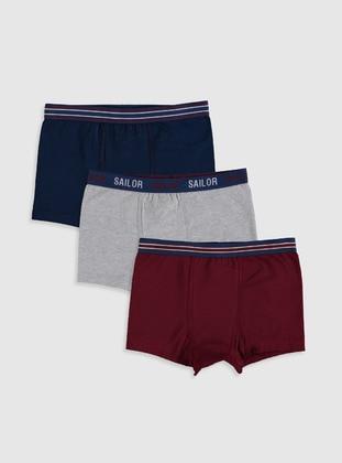 Maroon - Kids Underwear
