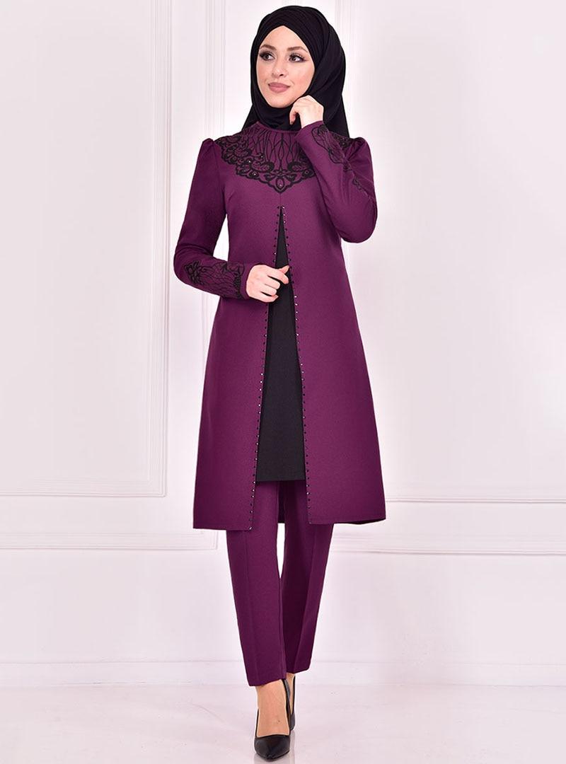 Evening Suit AYŞE MELEK TASARIM Purple
