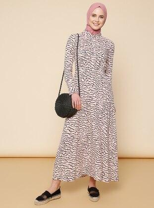 Powder - Multi - Point Collar - Dress
