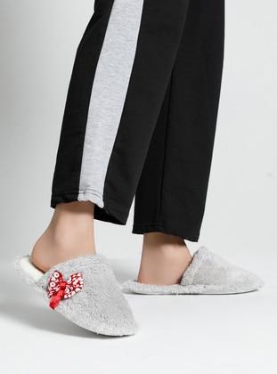 Sandal - Gray - Home Shoes - Snox