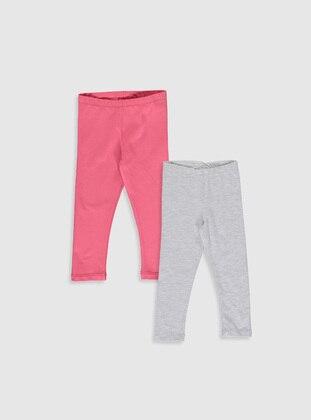 Gray - baby tights