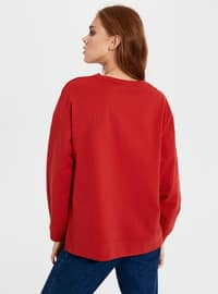 Red - Sweat-shirt