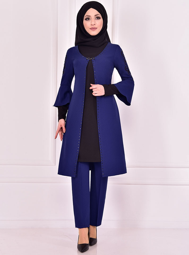 Evening Suit AYŞE MELEK TASARIM Indigo